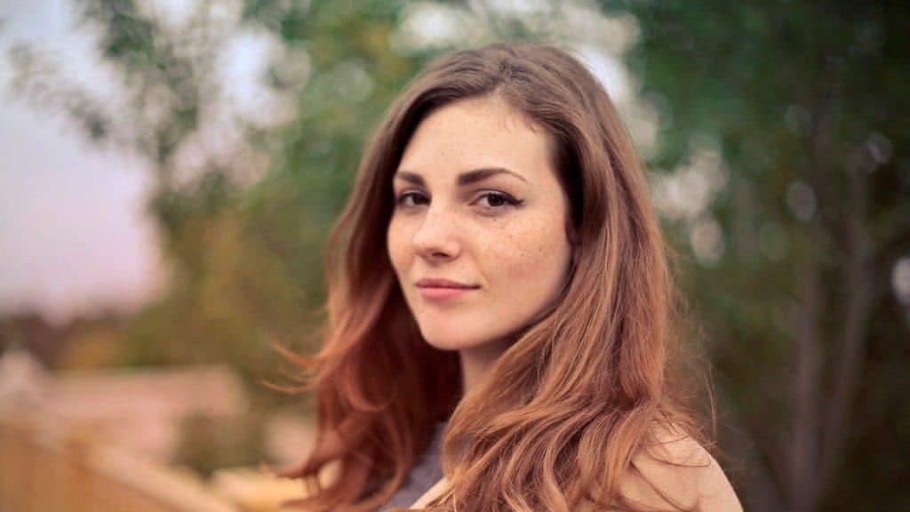 a woman portrait