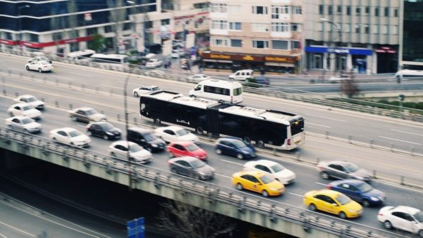 bus transportation traffic